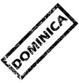 DOMINICA rubber stamp vector image