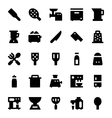 Kitchen Utensils Icons 8 vector image vector image