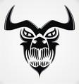 Tribal Demon Skulls vector image