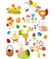 Easter elements set vector | Price: 3 Credits (USD $3)