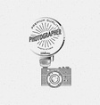 Photography logo badges logos and labels for any vector image vector image