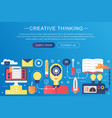 trendy flat gradient color creative vector image