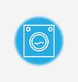 washing machine icon sign symbol vector image vector image