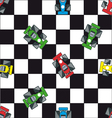 race car background vector image
