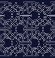 abstract seamless pattern with celtic knot04 vector image vector image