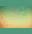 background of geometric shapes retro triangle vector image vector image