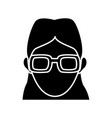 character woman head person image vector image vector image