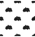 Dry animal foodpet shop single icon in black