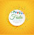 june festival of brazil festa junina background vector image vector image