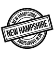 New Hampshire rubber stamp vector image vector image