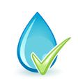 OK Water vector image vector image