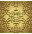 golden circle ornament vector image