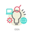 Creative network concept vector image