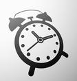 emblem the alarm vector image vector image