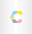 letter icon c logotype c symbol design vector image vector image