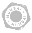 Mumbai stamp rubber grunge vector image vector image