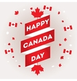 Set design elements for Canada Day first of July vector image vector image