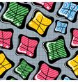 colorful decorative elements vector image