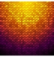 abstract triangles background vector image vector image