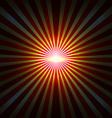 Background with radial rays vector image vector image