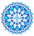 blue oriental ottoman design twenty eight