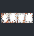 collection of vertical backgrounds with abstract vector image vector image