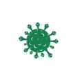 corona virus icon vector image