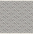 seamless abstract shapes pattern modern stylish vector image vector image