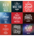Set Of Vintage Typographic Backgrounds vector image vector image
