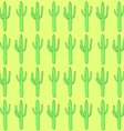 Sketch desert cactus in vintage style vector image vector image