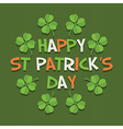 st patricks day decoration vector image vector image