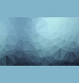abstract blue polygonal which consist of vector image vector image