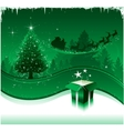 Christmas greeting card design background vector | Price: 1 Credit (USD $1)