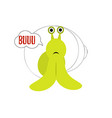 cute snail isolated vector image