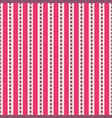modern abstract red rows on pink background vector image