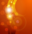 orange abstract background with sunlight rays