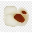 popcorn food mockup realistic style vector image vector image