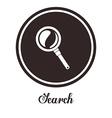Search design vector image vector image