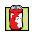 soda can vector image vector image