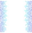 vertical decorative doodle seamlesspattern vector image vector image