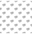 wtf comic book bubble text pattern vector image vector image