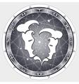 zodiac sign Gemini vector image vector image