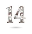 14 years anniversary celebration design