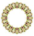 Antique ottoman turkish pattern design twenty six vector image vector image