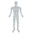 Atom person figure