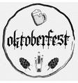 Beer festival Oktoberfest badges logos and labels
