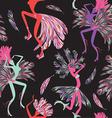 Brazilian Carnival seamless pattern vector image