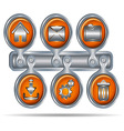 button icons for website6 vector image