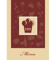 Cafe menu vector image vector image
