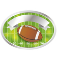 Football Champions Banner and Badge vector image vector image